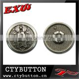CTY-SO42 polishing metal custom snap buttons