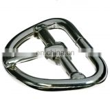 Stainless Steel one bar cinch buckle for horse strap