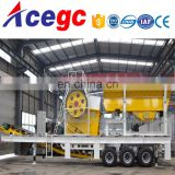 Mobile crushing station,portable coarse crushing machine,rough crusher equipment