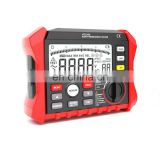 2 pole and 3 pole mode Digital display earth resistance tester