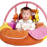 hot sale pvc inflatable baby play mat basket chair