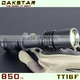 DAKSTAR TT16F XM-L U2 850LM 18650 Police Rechargeable Side Switch Stepless Diming Aluminum CREE LED Power Style Flashlight