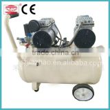 Two Motors Silent Air Compressor / Stationary Oil Free Air Compressor for Hospital and Clinic