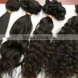 Factory wholesale clip in hair extensions for african american brazilian virgin hair from china factory