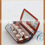 Fancy high quality plastic storage 8 day pill box & case with mirror for sale