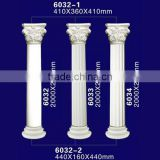 Beautiful PU Material Decortive Roman Pillars for Hall