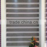 Popular zebra blinds finished product double layer blackout roller blinds curtain for window treatments