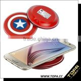 double usb ports universal wireless induction charger with favorable prices for all smart phone