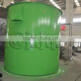 Agitating container/galena concentrating plant