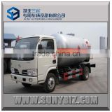 5m3 lpg propane gas tank truck in stock for sale