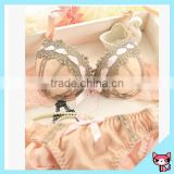Embroidered lace women underwear sexy sponge stylish bra and panty set
