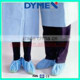 2015 top quality disposable nonwoven blue shoe cover(shoe shield) for daily,surgical and medical use
