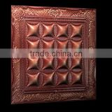 Leather 3d wall panel decoration wall panel decor walls and ceiling decorative 3 three-dimensional panels