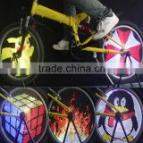 128 LED Flashing Bicycle Wheel Lights Colorful LED Bike Tire Light                                                                         Quality Choice