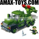 bd-0788844 kids building block Military missile car set plastics intelligent toys brick 203pcs