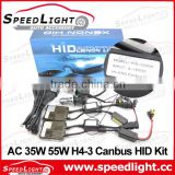 Factory Supply 4300K 6000K 8000K 12000K 35W 55W Canbus HID H4-3 9004-3 9007-3 Bi-Xenon Kit