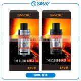 Wonderful new atomizer with factory price Authentic TFV4 updated version smok TFV8/Cloud beast tank Smoktech TFV 8 V8 RBA