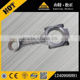 Japan brand bulldozer spare parts, D85A-21 connecting rod 6151-31-3101, S6D125-1 engine spare parts