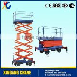 Mobile Electric Hydraulic Scissor Lift Table Work Platform Aerial Lift Self Propelled Scissor Lift