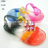 Little Girl Colorful Children PVC Jelly Sandals