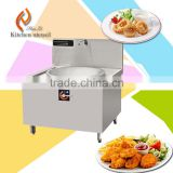 Single wok 20KW high temperature high efficency commercial electric induction stove wok cooker with stainless steel SB20