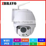 Wifi 1080P 960P 720P POE PTZ Camera 60M IR Speed Dome Wireless Outdoor Weatherproof IP Camera support Alarm,Audio,TF card