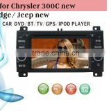 touch screen car dvd player fit for Jeep new Chrysler 300C Dodge with radio bluetooth gps tv