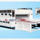 Corrugated Carton Box Flexo Multi-color Printing and Slotting Machine
