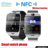 Smart bluetooth watch GV18 with NFC camera wristWatch SIM card Smartwatch for iPhone6 Samsung Android Phone watch phone                                                                         Quality Choice