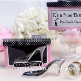 2015 Wedding favor gift sexy high-heeled shoes metal bottle opener                                                                         Quality Choice