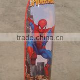 PVC spider man inflatable free standing boxing bag punching tumbler
