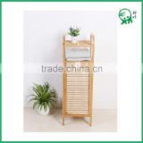 Eco-friendly 100% Solid Bamboo Living Room Furniture,Bathroom Storage Basket