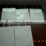 brown kraft paper bags with cheaper price and shopping paper bag making by machine, paper bags with your own logo