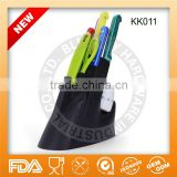 2013 Colourful kitchen knife set with block                                                                         Quality Choice