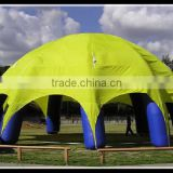 Yellow CE Blower Approved Outdoor Inflatable Law Tent For Sale