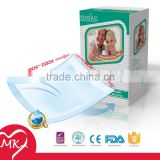 Wholesale ultra thick washable soft disposable bamboo comfortable baby changing mat Nursing under Pads