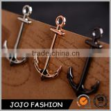 New Anchor Souvenir Gift Custom Metal Gold Plated Badge Tie Lapel Pin