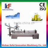 single/double head semi automatic liquid filling machine manufacturing for bottle water