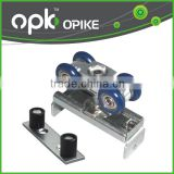 Glass Wooden Aluminum Sliding Door Hanging Wheel Roller Pulley Block 4 Wheels                                                                         Quality Choice