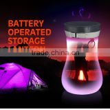 SORBO AAA Battery Operated Outdoor Waterproof LED Camping Equipment Light with Bottle Storage Lantern