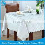 chinese products wholesale cotton laminated with pvc oilcloth tablecloth with cotton fabric back