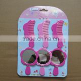 plastic children girl beauty hand mirror for promotion                                                                         Quality Choice