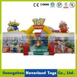 Hot Sale NEVERLAND TOYS Inflatable Toy Story Fun City Castle Inflatable Bouncy Castle Commercial for Kids