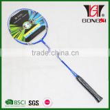GX-505 BLUE best quality create your own brand badminton/top brands of badminton rackets