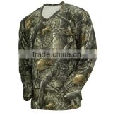 2015 Men Quick Dry Camping Camouflage T shirt Breathable Camo short sleeve Hunting T shirt