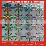Laser authenticity dot matrix hologram sticker distributor for chinese new year cookie box