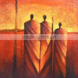 High quality handmade buddha oil painting on canvas