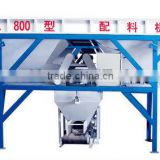 Hot sales 2012 three-hopper concrete batching machine PL800 mobile concrete batching plant
