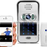 WIFI Visual Intercom Doorbell Video Door Phone IP WI-FI Camera For IOS Android Smart Phones