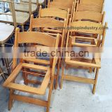 Natural Color Birch Wood Folding Chair